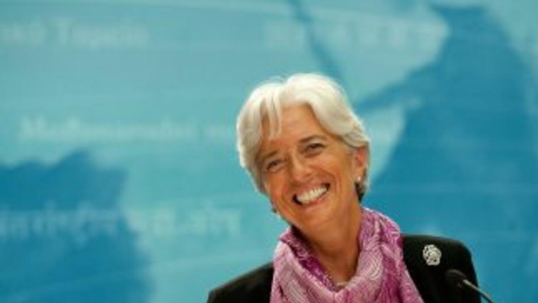 Christine Lagarde fue nombrada a finales de junio pasado como director g...