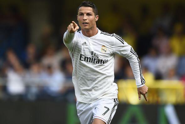 Cristiano Ronaldo marcño un gol en la victoria del Real Madrid sobre el...