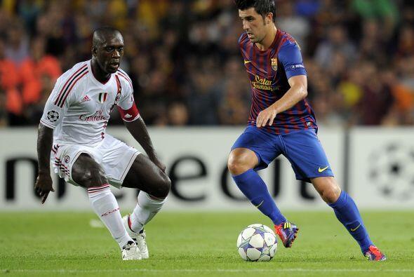 El Barcelona recibió al Milan ante más de 80 mil espectadores.