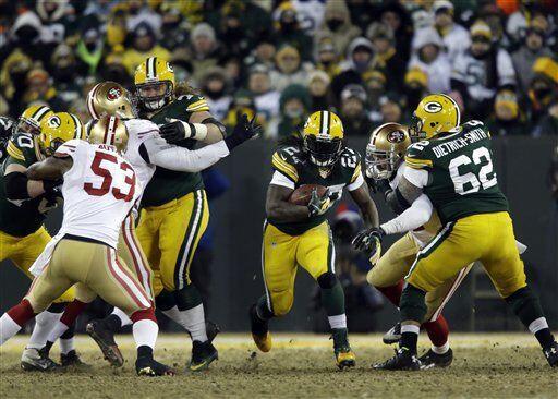 Eddie Lacy fue una vez más la potencia detrás de los Packers. El corredo...