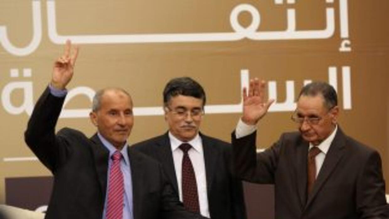 Traspaso de poder en Libia.