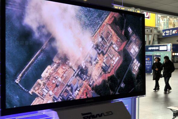 Las fugas radiactivas de la central nuclear japonesa accidentada de Fuku...