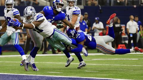 El debut de Ezekiel Elliot con Cowboys