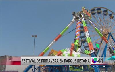 ¡Así se vive el Festival de Primavera en Retama Park!