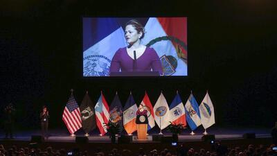 Este jueves, la presidenta del Concejo Municipal de Nueva York, Melissa...