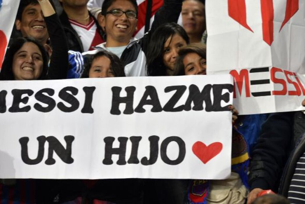 Y no solo hay cariño entre ellos, los peruanos demostraron su amor incon...