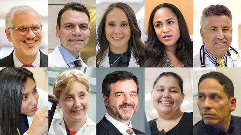 Médicos hispanos