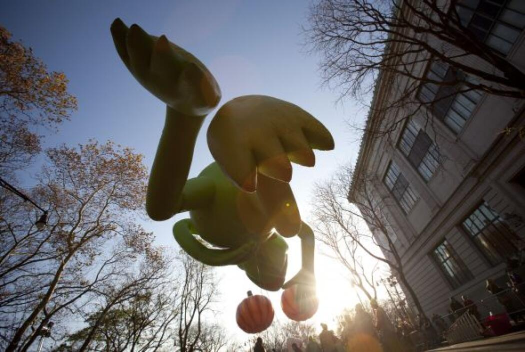 Comenzó a las 9 de la mañana en Central Park West con la Calle 77 y lleg...