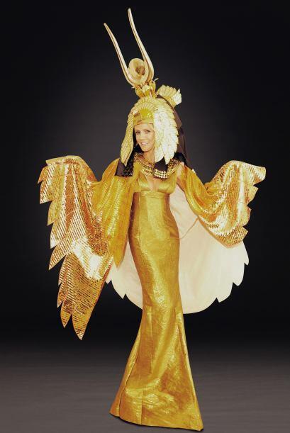 El año pasado le puso mucho detalle a este disfraz de Cleopatra,...