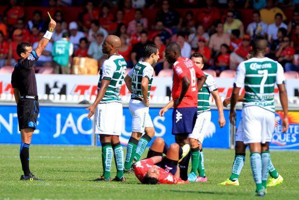 En el cotejo resultaron expulsados Ribaír Rodríguez y Mauro Cejas.