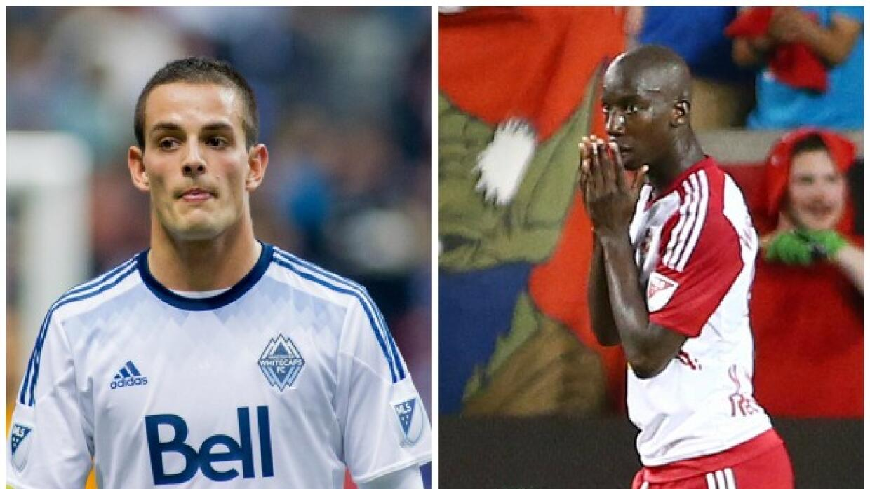 Octavio Rivero y Bradley Wright Phillips