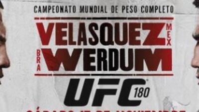 Se dio a conocer la cartelera estelar de UFC 180.