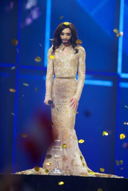 Tras su aparición en la televisión de Austria, Conchita fue conocida com...