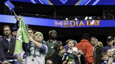 Los fans vivieron el día más extraño del Super Bowl, vive lo mejor tú ta...