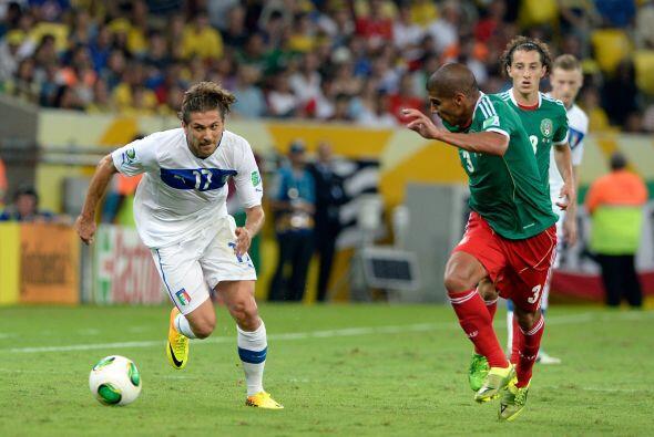 Ya en Copa Confederaciones, el Tri debutó con una derrota ante It...