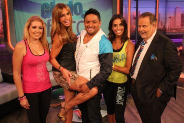 Otro de los concursantes de Mira Quién Baila que estuvo en el show fue M...