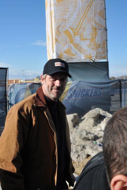 El actor de la famosa serie Dr. House, Hugh Laurie.