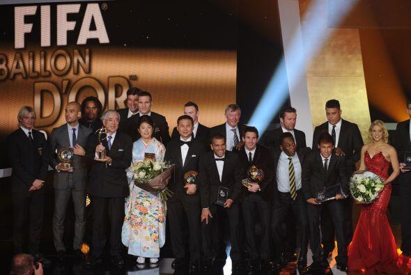 Esto fue todo en la Gala de la FIFA para el Balón de Oro 2011. Ahora, te...