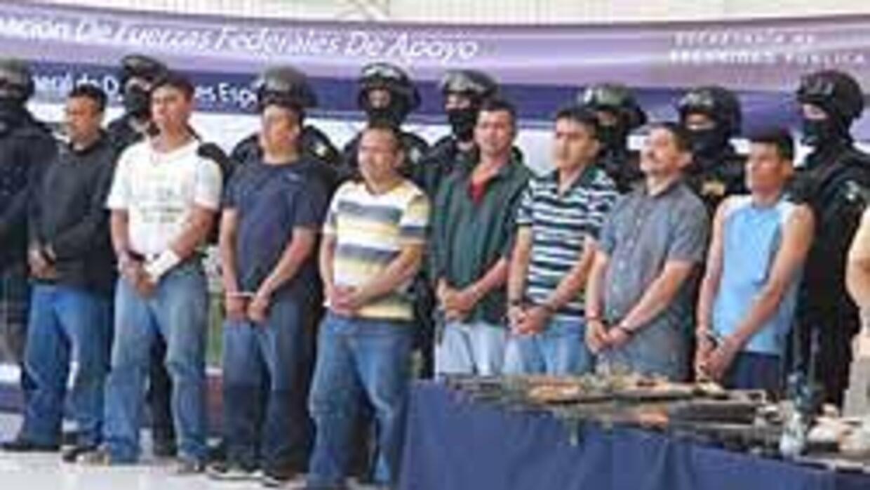 Policía atrapó dormidos a diez miembros del cártel de 'La Familia' de Mi...