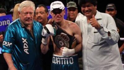 'Cuatito' Ruíz defenderá títuo contra el 'nica' Sampson (Foto: HG Boxing)