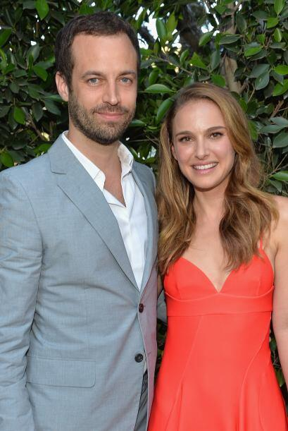 Natalie Portman y Benjamin Millepied Ellos se conocieron en el set de la...