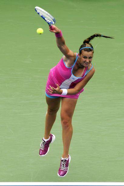 Pavlyuchenkova no salió como favorita, pero pudo superar a la ita...
