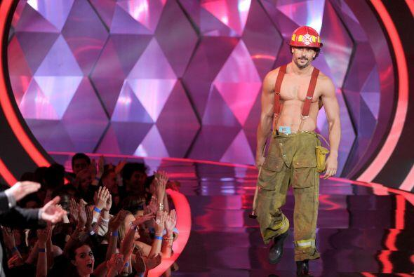 El actor también deleitó en la popular y taquillera cinta 'Magic Mike'.