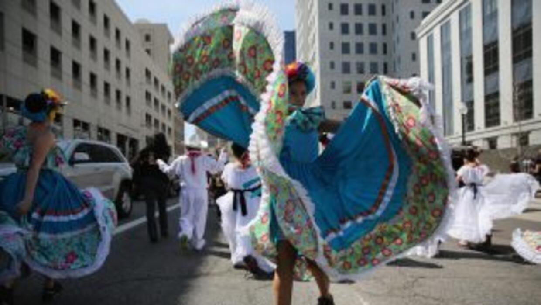 Festejos del Cinco de Mayo.