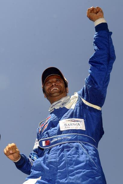 Nasser Al Attiyah soboreó la victoria con doble razón ya q...