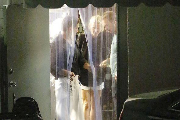 Gwyneth y Chris salieron a cenar a un exclusivo restaurante de Los Angel...