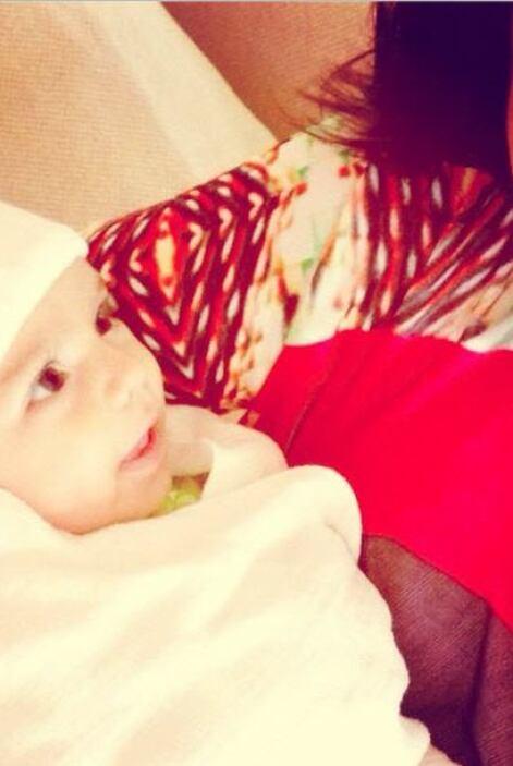 Así celebró Consuelo Duval la alegría de ser tía. ¡Qué bebita tan linda!