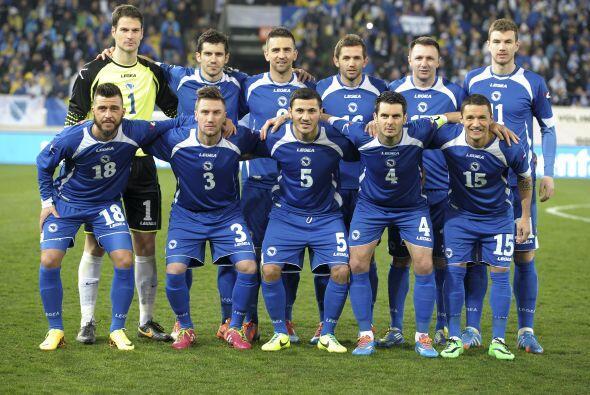 Bosnia comparte el Grupo F con Argentina, Irán y Nigeria.