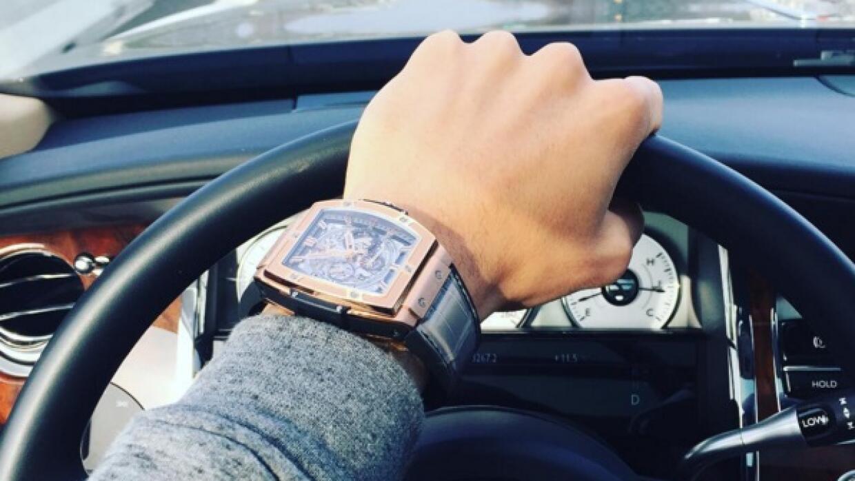 Icardi presumió su reloj hace unos días