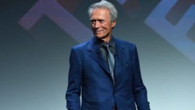 El actor y directorClint Eastwood.