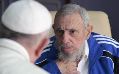 Francisco habla sobre su reunión con Fidel