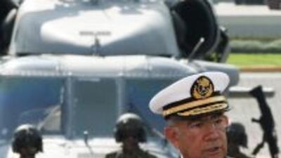 Mariano Francisco Saynez Mendoza, secretario de Marina.