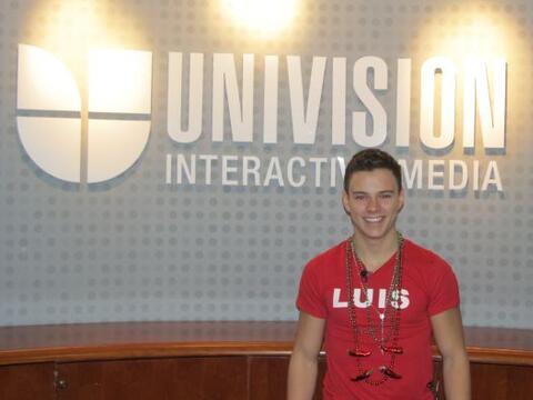 Luis, el cuarto eliminado de Protagonistas, pasó por las oficinas...