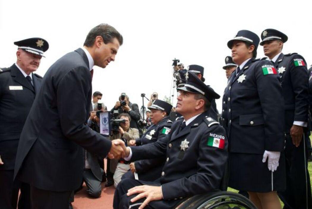 Peña Nieto pidió a la Policía Federal no defraudar a los ciudadanos.