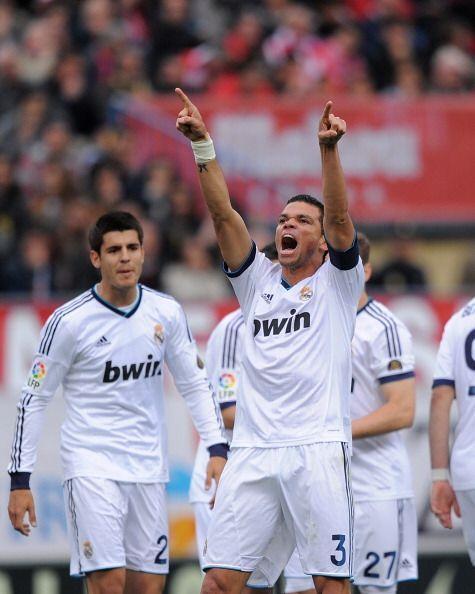 Juan festejó así el gol con el que los merengues empataron...