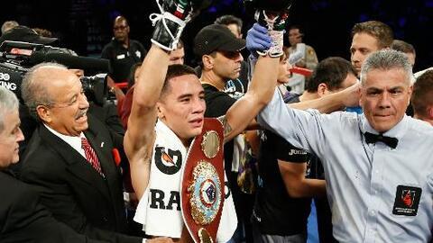 """Oscar Valdez Jr.: """"Este título es para todos los mexicanos, lo soñé desd..."""