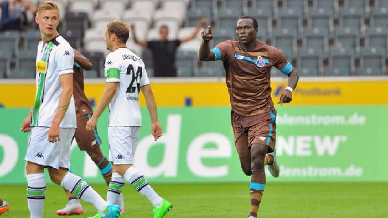 Los Dragones lusos no pudieron ante el poder del Mönchengladbach