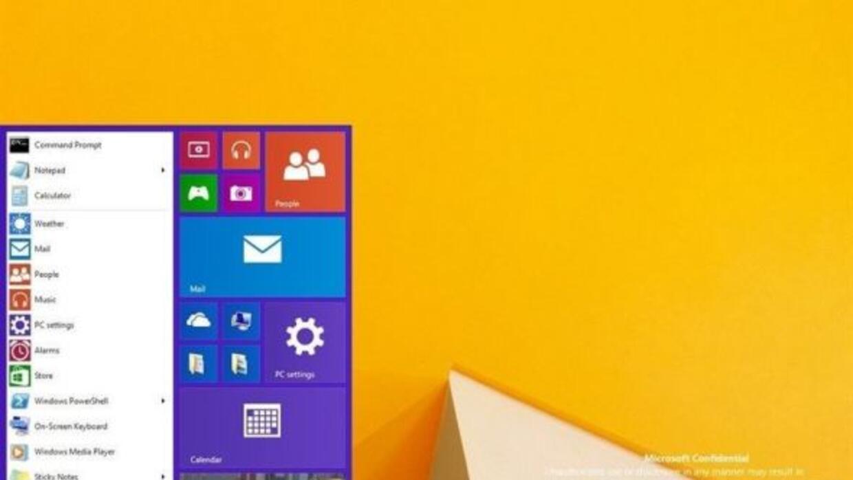 Al parecer el botón de inicio de Windows regresará en la siguiente versión.
