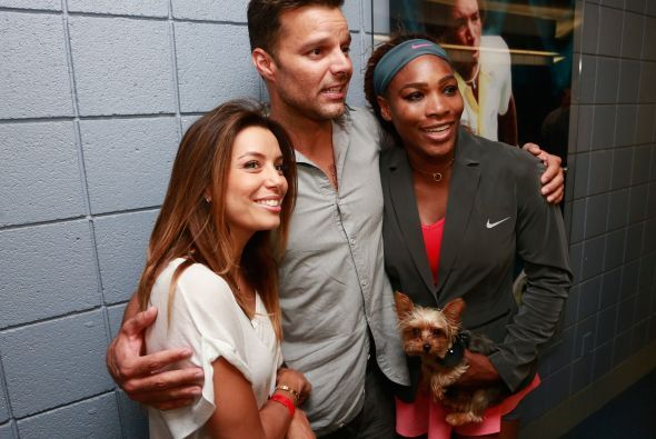 Ricky Martin y Eva Longoria no fueron las únicas celebridades fanáticas...