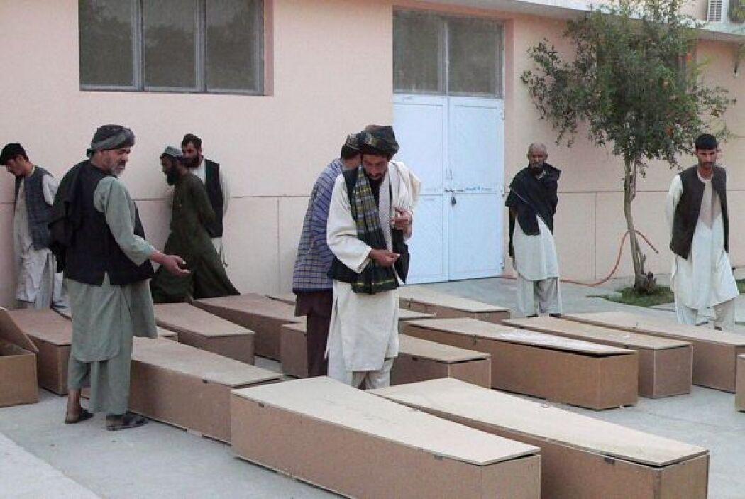 10 de junio - 40 muertos en un atentado durante una boda en Kandahar, su...
