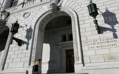 Edificio de la Corte Suprema de California en San Francisco.