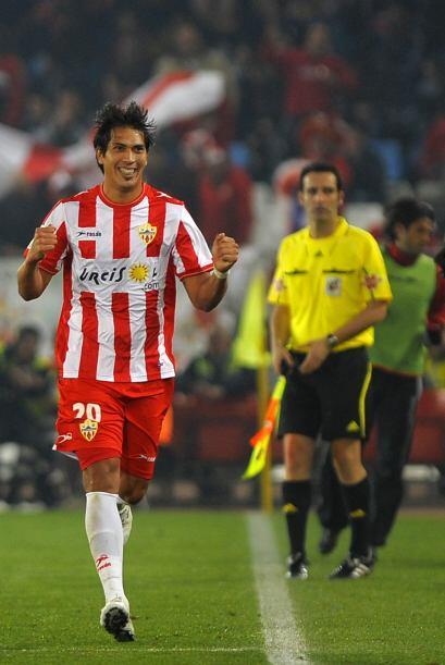 Y fue el Almería quien abrió el marcador con un tanto de J...