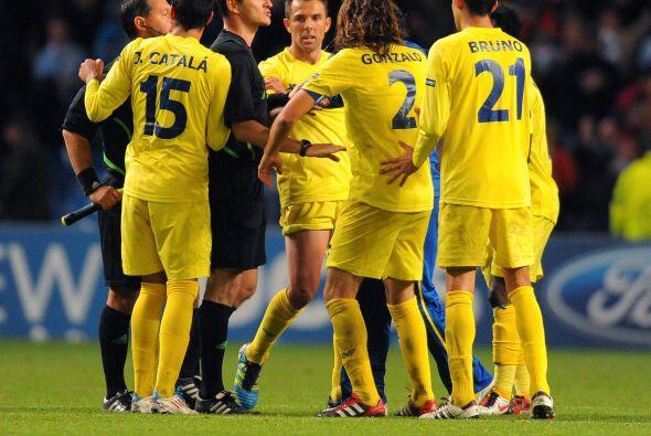 Al final, los jugadores del equipo español le recriminaron al &aa...
