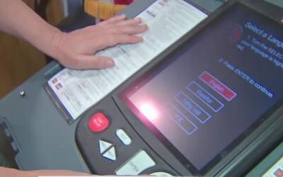 No hay fallas en las máquinas de votación del condado Harris en Texas
