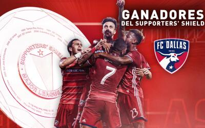 FC Dallas ganador del Supporters' Shield