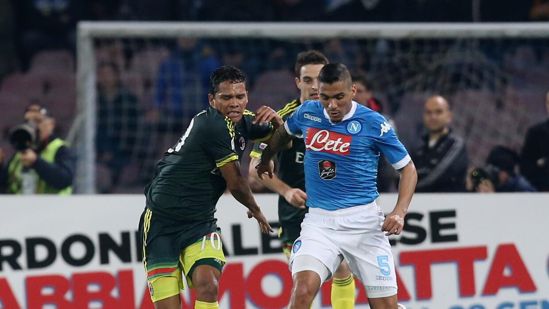 Nápoles no pasa del empata con el Milan